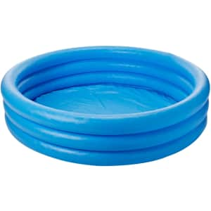 Intex Crystal Blue Inflatable Pool for $13