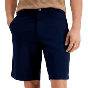 "INC Men's Roggen Flat-Front 10"" Shorts for $14"