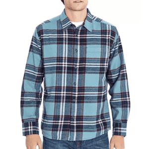 Eddie Bauer Men's Flannel Shirt for $9.81 for members