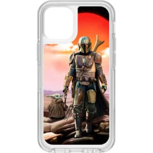 OtterBox Mandalorian Symmetry Series Clear Case for iPhone 12 mini for $27