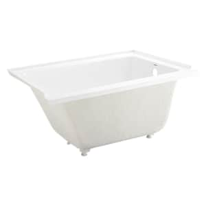 """Swiss Madison Voltaire 48"""" Drop-In Soaking Bathtub for $388"""