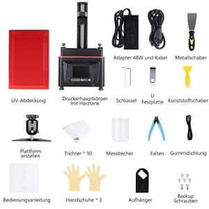 ELEGOO Mars 2 Pro Mono MSLA 3D Printer UV Photocuring LCD Resin 3D Printer with 6 inch 2K for $300