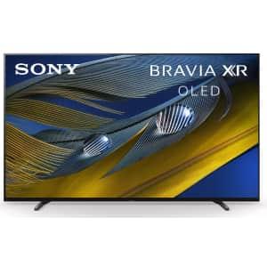 "Sony XR-55A80J 55"" 4K HDR 120Hz OLED UHD Smart TV for $1,499"