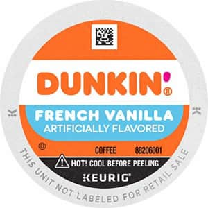 Dunkin Donuts Dunkin' French Vanilla Flavored Coffee, 88 Keurig K-Cup Pods for $53