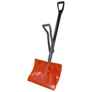 "Bigfoot 18"" Combination Adjustable Ergonomic Snow Shovel for $28"