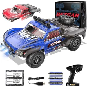 Bezgar 1:18 Scale Remote Control Monster Truck for $56
