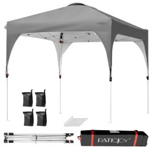 Costway 8x8-Foot Outdoor Pop Up Tent for $120