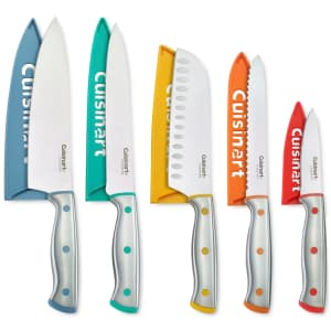 Cuisinart ColorCore 10-Piece Cutlery Set for $25