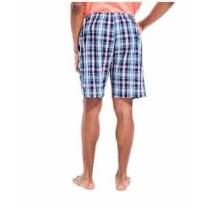 Nautica Men's Soft Woven 100% Cotton Elastic Waistband Sleep Pajama Shorts, J Navy, XX-Large for $34