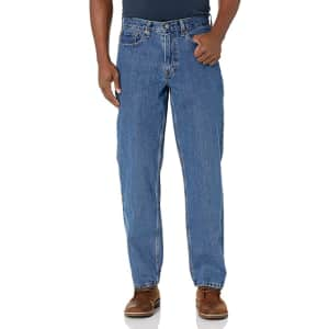 Levi's Men's 550 Relaxed Fit Jeans for $32