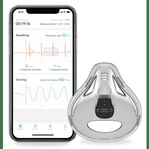 Sleepbreathe Comprehensive Sleep Breathing Monitor for $76