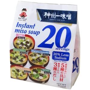 Miyasaka Instant Miso Soup for $7