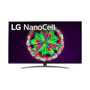 LG 55'' NanoCell 81 Series 4K UHD HDR Smart TV w/ XBOOM Go PL5 Speaker for $797