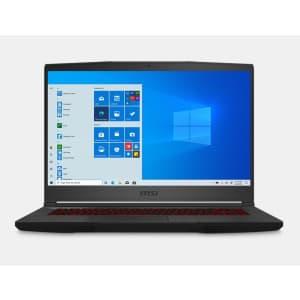 MSI GF65 Thin 10th-Gen i7 Gaming Laptop w/ 1TB SSD, 6GB GPU for $1,099