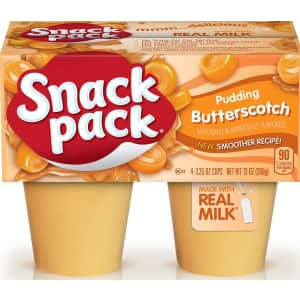 Snack Pack Butterscotch Pudding Cups 4 Count 12-Pack for $7.71 via Sub & Save