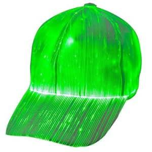 Moobibear LED Fiber Optic Color-Changing Hat for $35