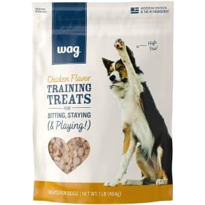 Wag Dog Food and Treats at Amazon: 40% off + extra 5% off via Sub & Save