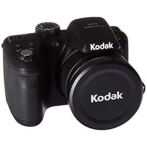 "Kodak PIXPRO Astro Zoom AZ401-BK 16MP Digital Camera with 40X Optical Zoom and 3"" LCD (Black) for $200"