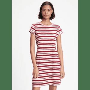 Gap Factory Women's Pocket T-Shirt Dress for $6