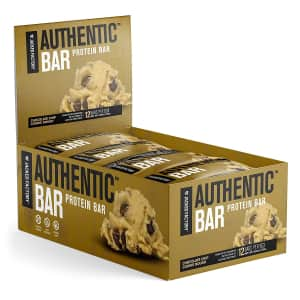 Jacked Factory Authentic Bar Protein Bar 12-Pack for $15 via Sub & Save
