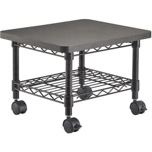 Safco Products Under Desk Printer/Fax Stand w/ Wheels for $61