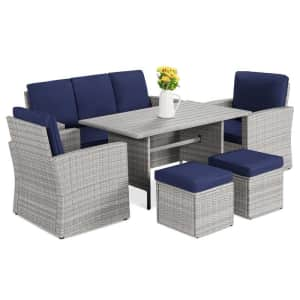 Best Choice Products 7-Seat Patio Furniture Set for $650