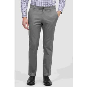 Jos. A. Bank Men's Travel Tech Slim Fit Flat Front Casual Pants for $15
