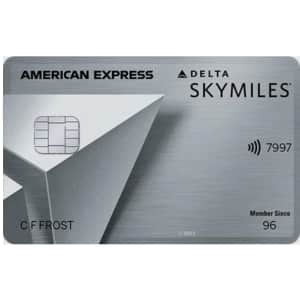 Delta SkyMiles® Platinum American Express Card at MileValue: Earn 90,000 Bonus Miles + 10,000 MQMs