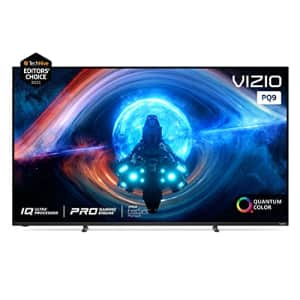 VIZIO 65-Inch P-Series 4K UHD Quantum LED HDR Smart TV w/Apple AirPlay 2 & Chromecast Built-in, for $1,200
