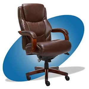 La-Z-Boy Delano Big & Tall Executive Office Chair | High Back Ergonomic Lumbar Support, Bonded for $454