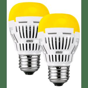 Sansi 8W LED Yellow Bulb 2-Pack for $8