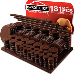 X-Protector Felt Furniture Pads 181-Pack for $14