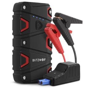 BlitzWolf 800A Car Jump Starter for $27