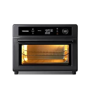 Toshiba Air Fryer Toaster Oven, 13-in-1 Digital Convection Oven for Pizza, Chicken, Cookies, 25L, for $199
