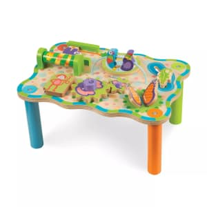 Melissa & Doug First Play Wooden Jungle Activity Table for $24 w/ Target Circle