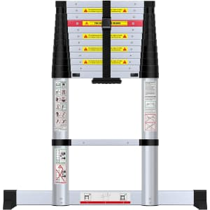 WolfWise 12.5-Foot Telescoping Ladder for $160