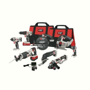 Porter-Cable PCCK619L8 20V MAX li-ion 8 tool kit for $440