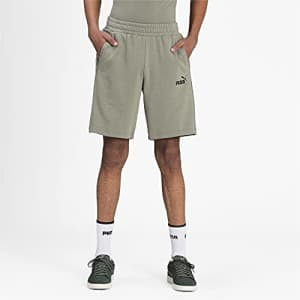 """PUMA Men's Amplified 9"""" Shorts, Vetiver, XX-Large for $25"""