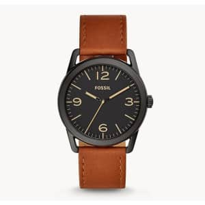 Fossil Men's Ledger Three-Hand Watch for $36