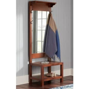 Home Decorators Collection Baythorn Wood Hall Tree w/ Mirror for $150