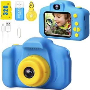 Desuccus X2 Kids' 1080p HD Digital Camera for $16