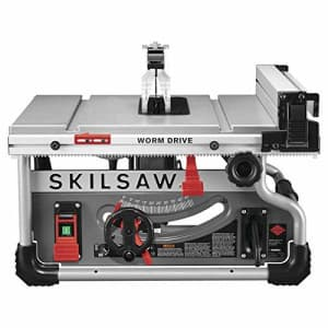 """SKILSAW SPT99T-01 8-1/4"""" Portable Worm Drive Table Saw (Renewed) for $379"""
