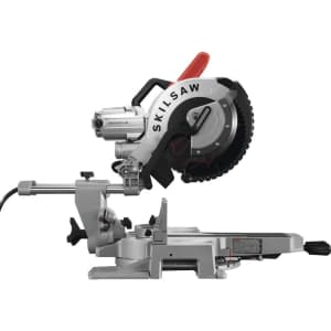 """Skilsaw 12"""" Worm Drive Dual Bevel Sliding Miter Saw for $629"""