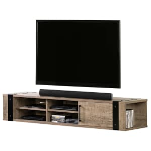 """South Shore Munich 68"""" Floating TV Stand for $197"""
