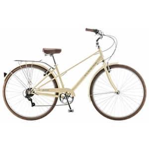 Schwinn 700c Admiral Women's Hybrid Bike, White for $430