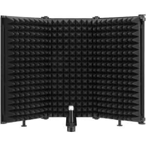 Moukey Studio Recording Microphone Isolation Shield for $20
