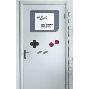 RoomMates Gameboy Dry Erase Wall Decals for $21