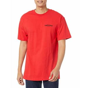 LRG Men's Spring 21 Graphic Designed Logo T-Shirt, Big Yields Red, X-Large for $19