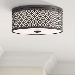 Possini Euro Design Euro Lavina Ceiling Light for $80