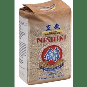 Nishiki 5-lb. Premium Brown Rice for $5.26 via Sub & Save